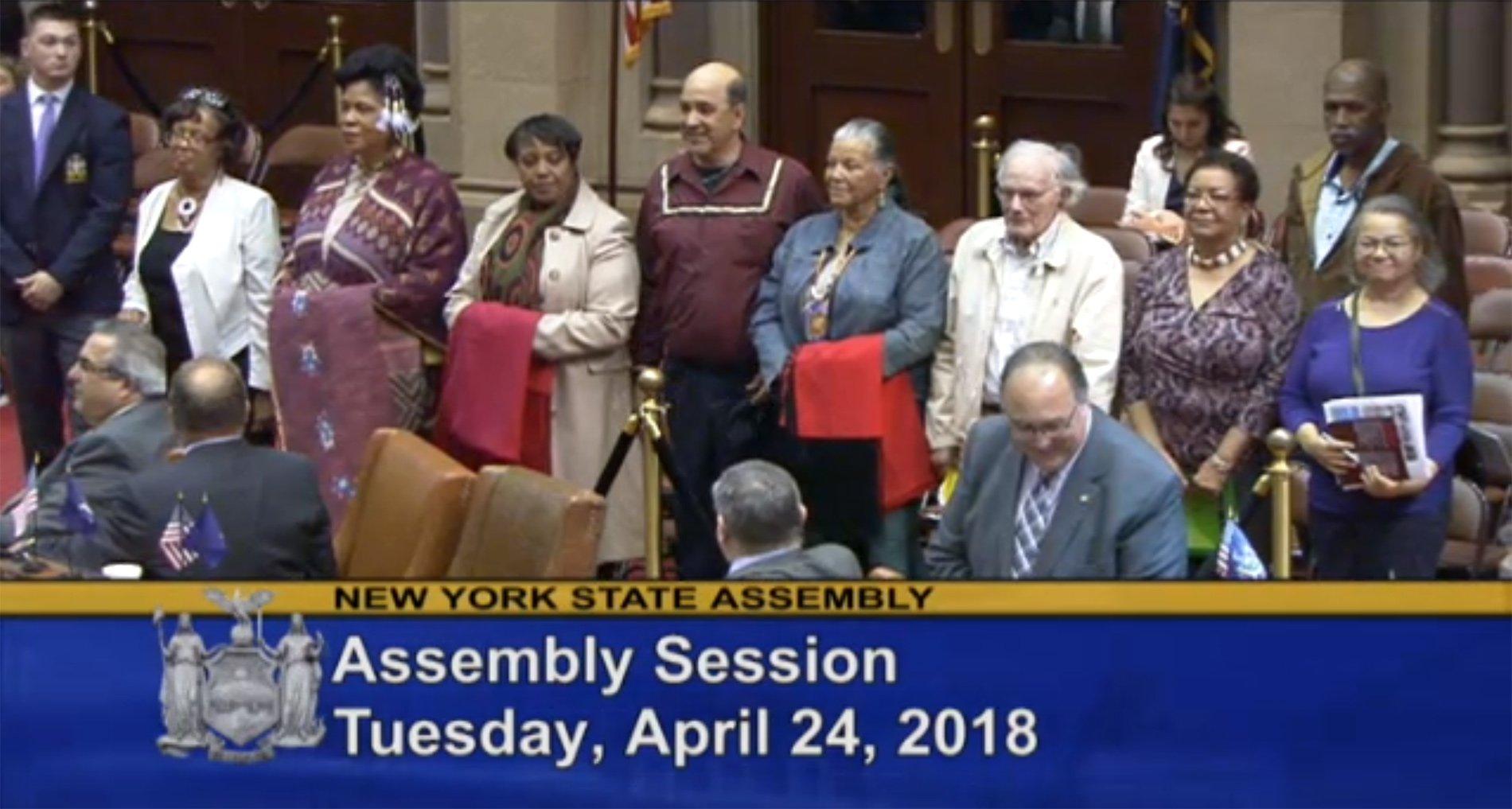 Montaukett-at-New-York-State-Assembly-April-24-2018 Montaukett Jeremy Dennis On This Site