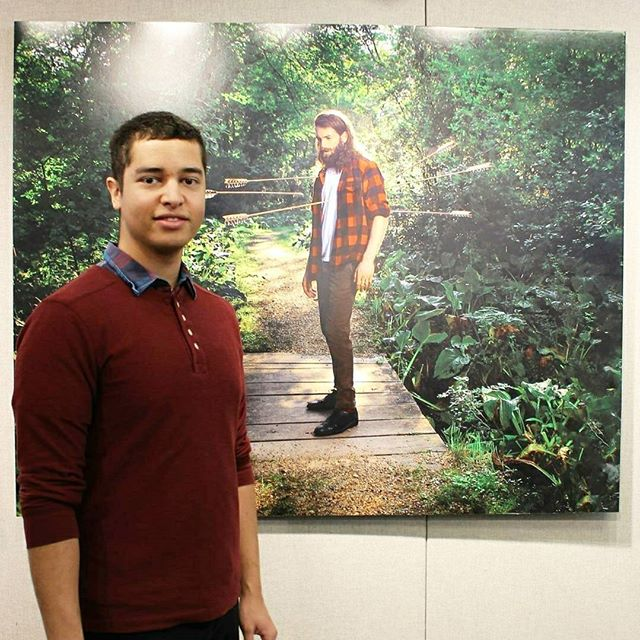 @Regranned from @thecenter4socialjustice -  Yesterday, as part of our Indigenous People Series, CSJHU co-hosted the opening reception for Jeremy Dennis & his solo exhibit: Nothing Happened Here.This exhibition of new photographs by Jeremy Dennis is being featured at Suffolk County Community College's Flecker Gallery, on the Ammerman Campus from 2/818 – 3/15/18.Dennis is an indigenous artist who was raised & continues to live & work on the Shinnecock Indian Reservation in Southampton, New York. The exhibition is accompanied by full color catalog. Please contact us or the Flecker gallery directly for directions, to schedule an appointment, or to request a catalog or more information. #csjhu #sunysflk #indigenouspeopleofli Flecker GallerySuffolk County Community College533 College RoadSelden, NY 11784631-451-4093 gehrinm@sunysuffolk.eduhttp://sunysuffolk.eduhttps://www.facebook.com/fleckergallery/ Gallery hours:Monday - Thursday 10AM - 4PM and by appointment - #regrann