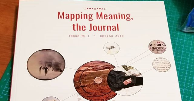 Received the first edition of @mappingmeaning Journal featuring history on @onthissite ! Please check out their website, follow their work on Instagram, and order a copy if you can support!