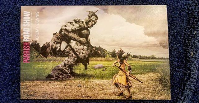 Very nice postcard @parrishart
