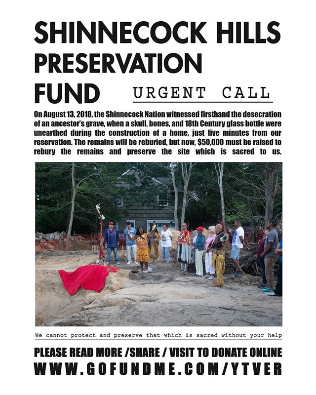 Designed a flyer for the Hawthorne preservation fund in anticipation for National Native American Heritage month please find a link to download here and click updates www.gofundme.com/ytver