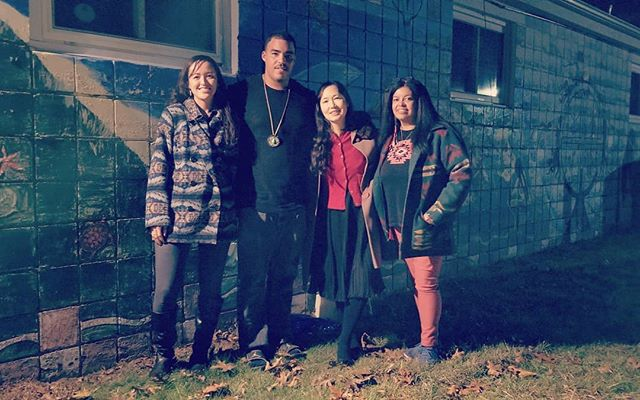 Great interview with @rezzybeader @bizhiki_ @thecreative_process @denisesilvadennis at Shinnecock