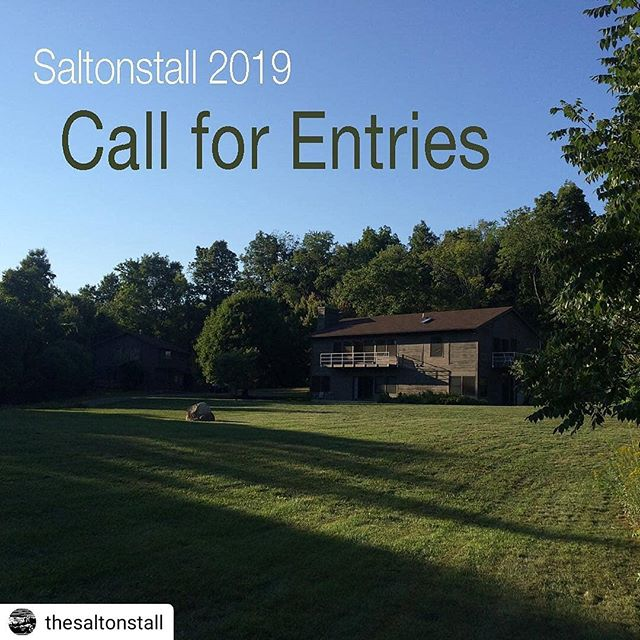An awesome opp! #Repost @thesaltonstall• • • • •Our 2019 Call for Entries is now live! (Link in bio.) Open to New York State artists and writers. Apply for a 2- or 4-week residency or our NEW 6-night residency for artist/writer parents! All residencies are free. Jurying is anonymous. Private accommodations, chef-prepared dinners, small 5-person groups, no application fee. Come to Ithaca and let us spoil you! Deadline is midnight on Wednesday, Jan. 2. We look forward to your application!  #callforentries #residency #newyorkstate #artscolony #freeresidency #aroomofonesown #ithaca #ithacany #saltonstall #saltonstallfoundation