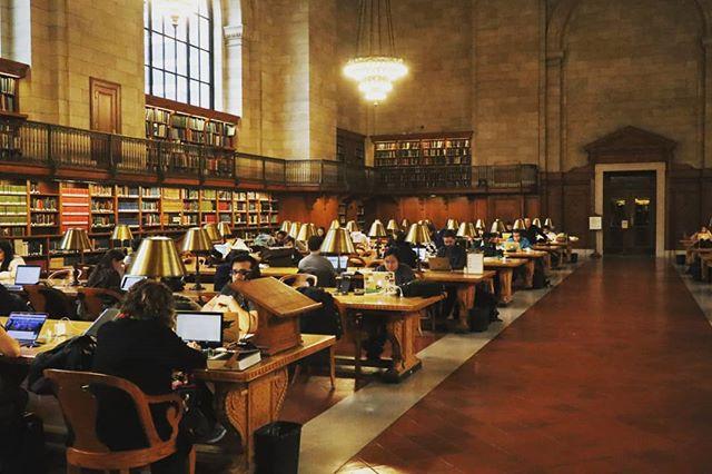 NY Manhattan public library