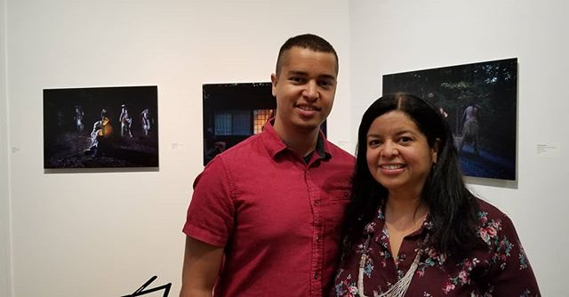 Great to see everyone @southamptonartscenter thank you! Will be on display till June 9
