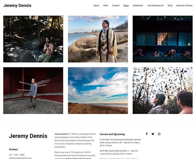 Finally updated my website, looking for brave souls to venture & gander www.jeremynative.com