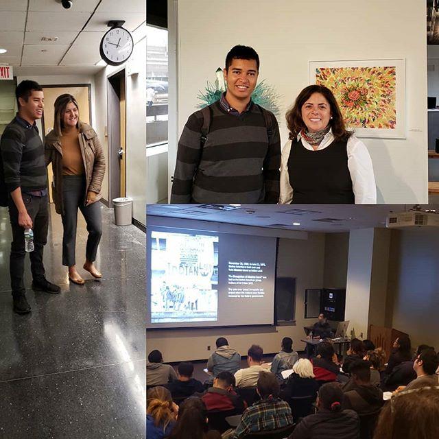 Reposted from @eastvillechs (@get_regrann) -  @jeremynative #artforum lecture@nccStanding room only - #regrann